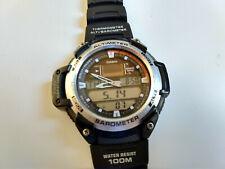 Casio Watch Protrek SGW-400H Twin Sensor Altimeter Barometer Thermometer 100M