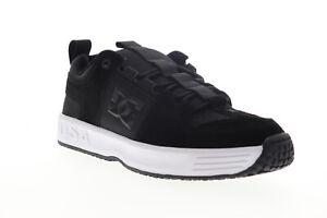 DC Lynx OG ADYS100425 Mens Black Suede Skate Sneakers Shoes