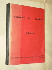 Catalogue Outillage DESCOURS & GABAUD 1974   outil garage auto propectus
