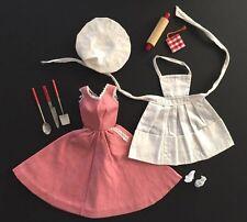 Vintage Barbie Q #962 9-Piece Ensemble ~ COMPLETE 1959 Barbeque Set