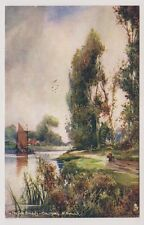 Norfolk postcard - The Norfolk Broads, Coltishall, Nr Norwich - Tuck Oilette