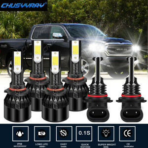 For 2009-2012 Chevrolet Colorado LED Headlight Hi/Lo+Fog light Combo Bulbs Kit