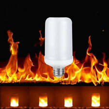 LED flame bulb, simulated flickering e26  vintage flaming light bulb for bar