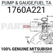 1760A221 Genuine Mitsubishi PUMP & GAUGE,FUEL TA