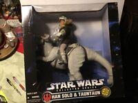 Star Wars Han Solo & Tauntaun 12in  figure 1997 Collectors Series