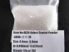 4A Natural (0.4~0.8mm) Tibetan Quartz Crystal Stone Rock Grinding Powder Healing