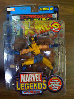 Marvel Legends Series 3 Wolverine Figure Toybiz LEFT GOLD FOIL NEW Free Ship US