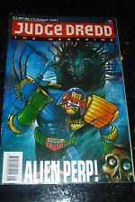 JUDGE DREDD THE MEGAZINE Comic - Series 1 - No 11 - Date 08/1991 - UK Comic