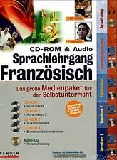 CD-ROM & Audio Sprachlehrgang Französisch **** BRANDNEU