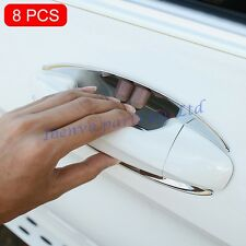 8 Pcs Glossy Chrome ABS Plastic Kits Car Door Bowl Cover For Mercedes-Benz GLC