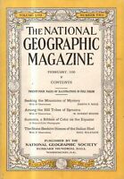 1930 National Geographic February - Sumatra; Italian beehive homes; China/Tibet