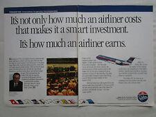 3/1990 PUB FOKKER 100 USAIR AIRLINE EDWIN COLODNY TAT TAM GPA AA ILFC AD