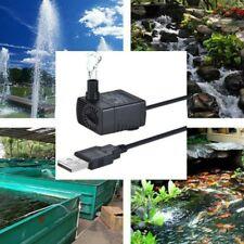 USB Mini Submersible Water Pump for Aquarium Fish Fountain Small Fish Tank