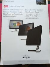 "3M 19"" BLACK FRAMELESS NOTEBOOK/LCD PRIVACY FILTER"