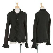 (SALE) tricot COMME des GARCONS sweat ruffle jacket Size About  M(K-20565)