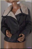 Veste blouson Noir H&M    taille 40 ref  0617137