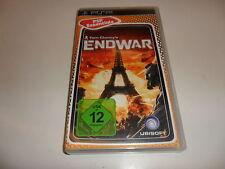 PLAYSTATION PORTABLE PSP Tom Clancy 's End era Essentials []