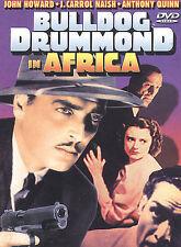 BULLDOG DRUMMOND in AFRICA Anthony Quinn ~ Alpha Video DVD, 1938 B&W
