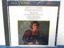 MICHALA PETRI - Vivaldi - Le Quattro Stagioni - CD - MINT condition - E19-252