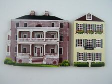 Shelia's Collectibles Wooden Historic House Vintage Lot