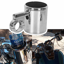 """Adjustable Motorcycle Handle Cup Holder For Harley Touring  7/8""""&1""""&1 1/4"""""""