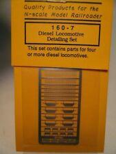 """Gold Medal Models """"N"""" Locomotive Cab Detailing Kit (F-Units/1st Gen) 1:160 #1607"""