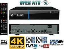 GigaBlue UHD Trio 4K | Combo Receiver DVB-S2X & DVB-C/T2 | Open ATV | Quad Core