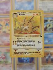 Raichu Holo 14/62 - Fossil Pokemon TCG - Near Mint (1999 WOTC)