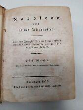NAPOLEON vor seinen Zeitgenossen 1827 - Halbleder