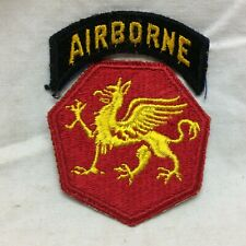 Vtg Military Patch 108th Army Airborne Infantry Division 108 Variant Dragon