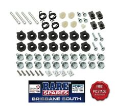 HOLDEN HQ FRONT NOSE CONE GRILLE & SINGLE HEADLIGHT BOLT & CLIP MOUNTING KIT GTS
