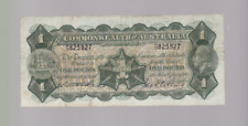 1926 Commonwealth Australia George V Kell Collins One Pound Banknote H-58 B-50