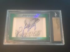 Gaylord Perry 2015 Leaf Cut Signature History of Baseball Auto Braves FREE SH