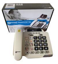 Geemarc PHOTOPHONE 100 Loud Big Button Photo ID Corded Telephone- UK Version