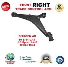 Para Citroen AX 10 e 11 Cat 1.3 Sport 1.4 D 1986-94 Delantero Derecho Brazo De Control De Pista