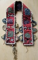 Antique Afghan tribe camel girth ceremonial wedding hand made late 19th century