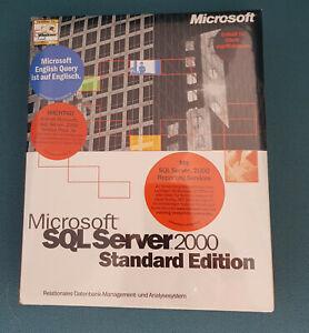 Microsoft SQL Server 2000 Standard - 10 Clients - Deutsch - SKU: 228-00708