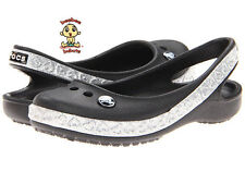 Crocs Shoes Kids Girls Genna Hearts Ballet Flats C10 Brand New and Authentic