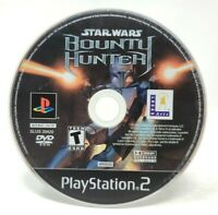 Star Wars Bounty Hunter Sony PlayStation 2 PS2 Game Only