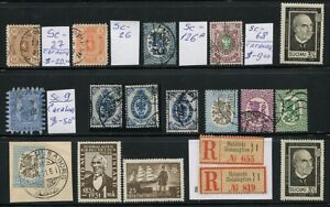 /Stamps Suomi Finland and Finnish Republic lot of 18