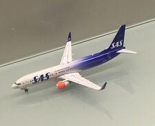 Phoenix 1/400 SAS Scandinavian Airlines Boeing 737-800 LN-RGI 70 years miniature