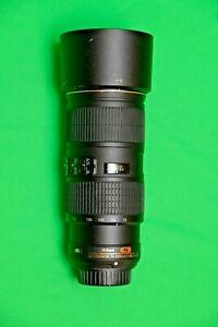 Nikon AF-S 70-200mm f/4 G ED VR IF Lens