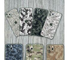 iPhone 7 8 X Pro Max XS 11 XR Schutzfolie Wrap Case Skin Aufkleber Sticker Camo