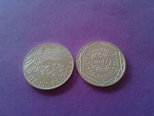 10 euros  des regions argent 2011 , ile de france
