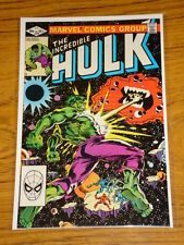 INCREDIBLE HULK #270 VOL1 MARVEL COMICS APRIL 1982