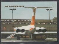 DDR Ak Flughafen Berlin Schönefeld, Flughafen, Interflug, Aussichtsterrasse