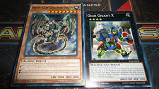 Yugioh Ancient Gear Gadget Deck - Red, Yellow, Green, Train, Gigant + Bonus