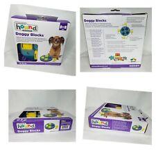 Outward Hound Doggy Blocks Toy Puzzle Interactive Treat Seeking Doggy Fun