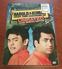 Harold and Kumar Go to White Castle and Escape from Guantanamo Bay 2 Dvds