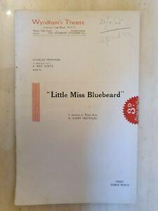 1925 LITTLE MISS BLUEBEARD- IRENE BORDONI ARTHUR MARGETSON OSA MARSH TOM NESBITT